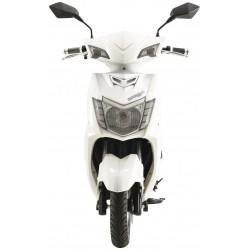 Elektrický motocykl RACCEWAY CITY/ SPORT RACING/ bílý-polomat