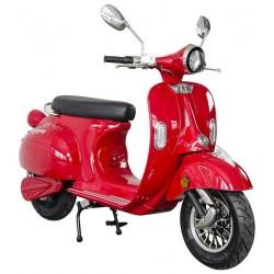 Elektrický motocykl RACCEWAY CENTURY, červený-lesklý