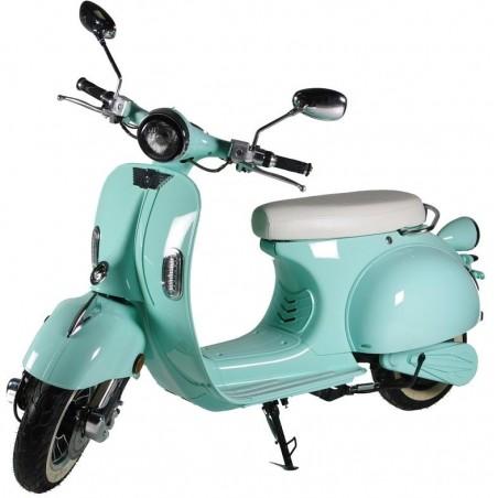 Elektrický motocykl RACCEWAY CENTURY, světle zelený