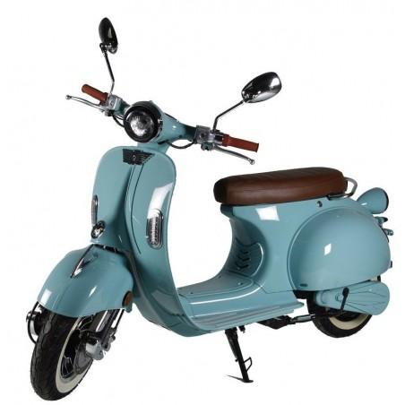 Elektrický motocykl RACCEWAY CENTURY, světle modrý